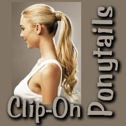 Hair Extensions - Clip on Ponytails and Chic Updo Hairstyles