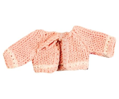 Maileg Micro stickad cardigan rosa
