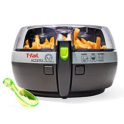 """Anyone who follows me on Instagram knows that I went gaga over this gadget, which lets you fry four servings of potatoes using only a tablespoon of oil. A truly low-fat French fry! Heaven has arrived.""—Oprah"