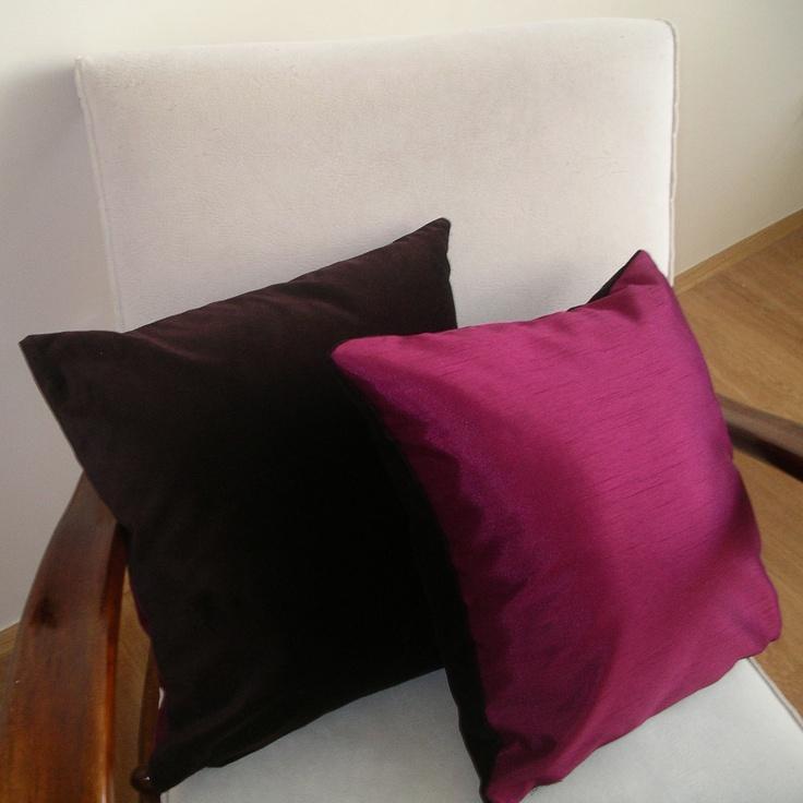 Cushions Raspberries and Chocolate