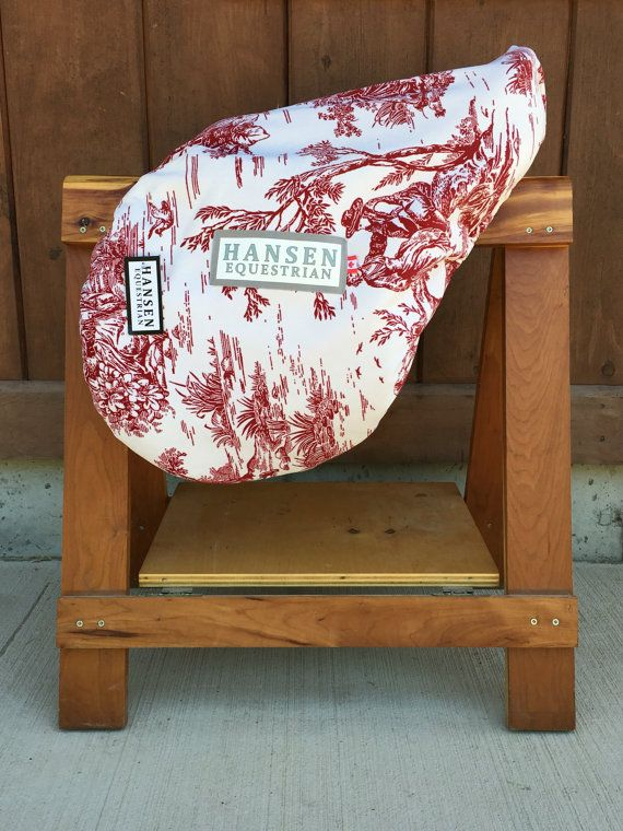 Hansen Saddle covers are available in both All Purpose size and Dressage. They are made from our signature micro-fibre fabrics which are easy to clean, beautiful to look at and strong enough to last many years around the barn. The covers are all lined with a lush Berber fleece that provides a cushion around your saddle protecting it from scrapes and scratches. The fleece also provides insulation that can help eliminate drying and cracking leather in cold temperatures and a moisture barrier…