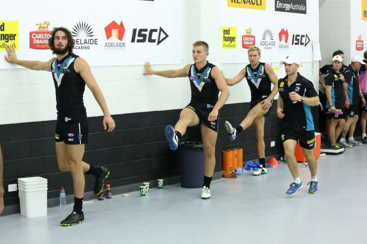 Warm up   Port Adelaide Football Club