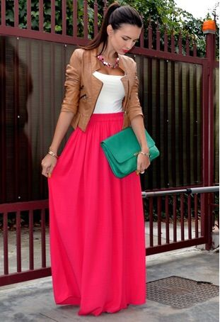 17 Best images about high waist maxi skirts ♥ on Pinterest | Long ...