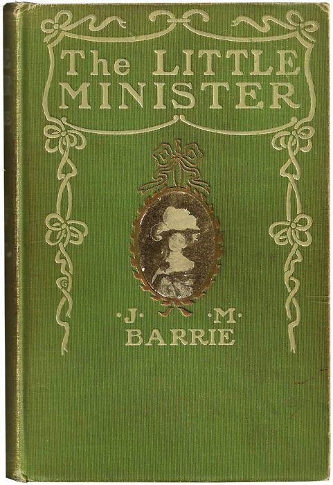 The Little Minister - J.M. Barrie - Vintage Green Gold Antique Children's Victorian Book $13.00