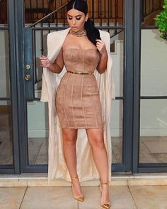 Just because you ignore a star doesn't mean it stops shining. Even on you  Dress @posh_shop_la Coat @meshkiboutique  Belt @asos Shoes @balmain