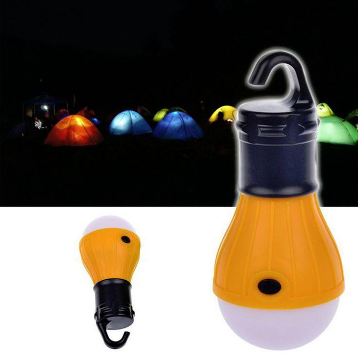 Suave Luz Colgante Al Aire Libre de Pesca Bombilla Lámpara de La Linterna Portátil LED Para Camping Luz de La Tienda