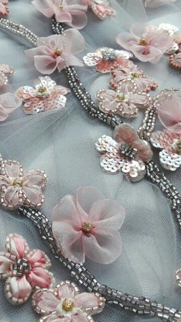 Stunning bead embellishment - would look great on a couture dress