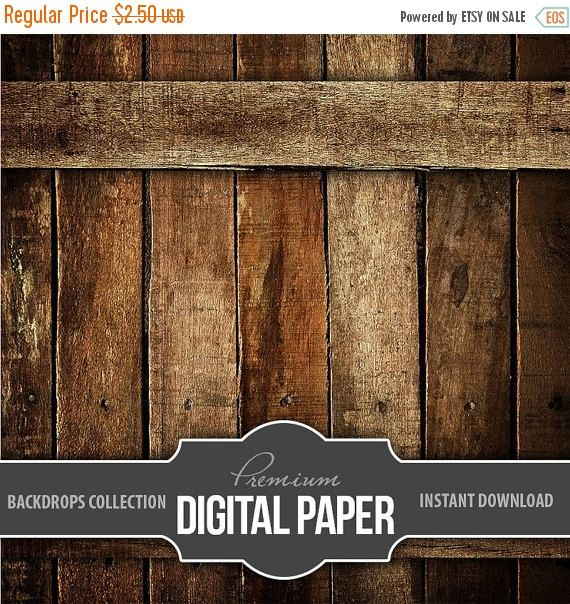 Digital Photography Backdrop Paper - Digital Background Rustic Wood - Wood Backdrop Background Paper High Res - Printable INSTANT DOWNLOAD