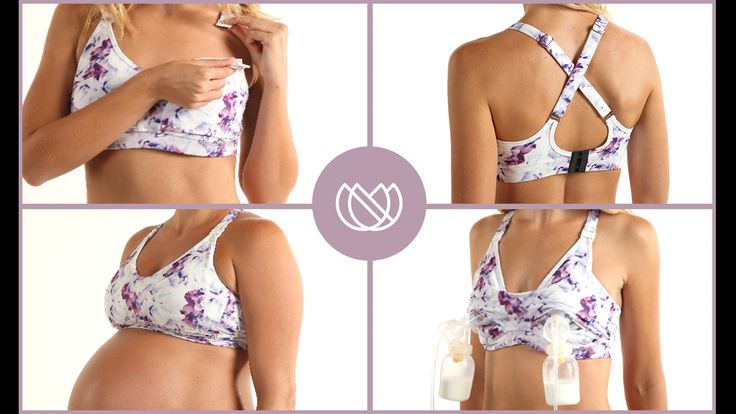 The Ollie Gray Pump, Breastfeeding and Maternity Bra project video thumbnail