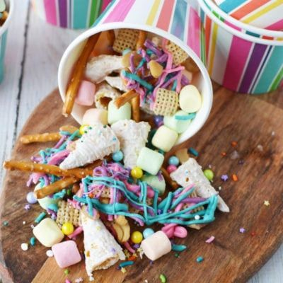 Unicorn Party Snack Mix | Recipe | Recipies | Birthday party