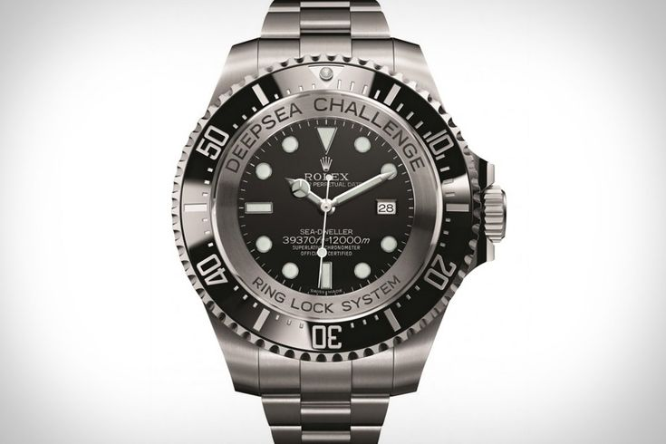 Planning on visiting the bottom of the sea? Keep track of the hours you spend battling the Kraken with the Rolex Deepsea Challenge Watch ($TBA). Designed for James Cameron's Deepsea Challenger expedition, this unique timepiece features a super-thick body, a black bezel to contrast with the steel case, luminous hands and hour markers, and water resistance down to 12,000 meters, or nearly 40,000 feet, or deep enough that the time should be the least of your concerns.
