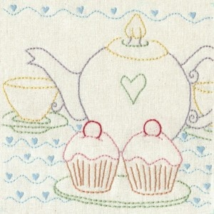 Perfect Day Series Block 8 - Tea and Cake