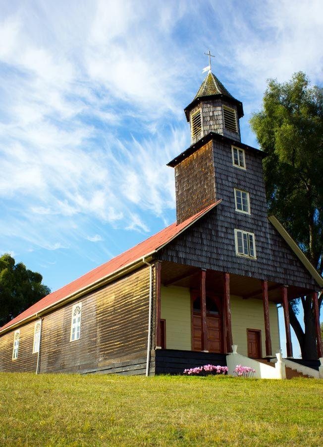 Iglesia de Trumao,Region de los Rios-Chile