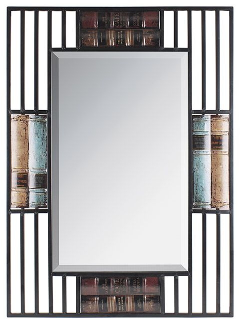 "Oglindă decorativă ""Vintage Library"""
