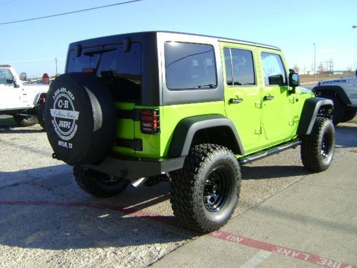 jeep rubicon 2014 hard top green mountain - Google Search
