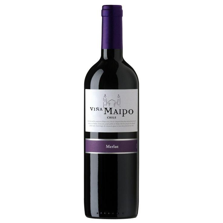 Viña Maipo Merlot - Vinho Tinto - Produtor: Viña Maipo - Região: Vale Central