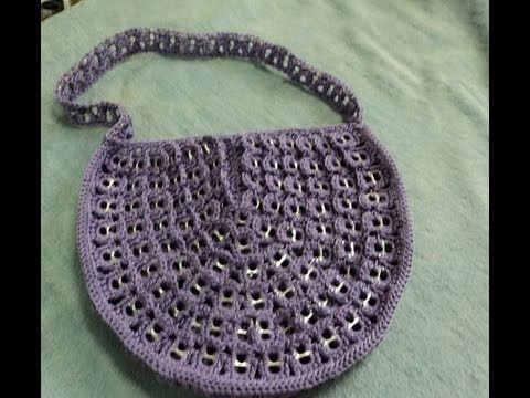 #Tutorial #bolsodeanillas #crochet parte 2 - YouTube