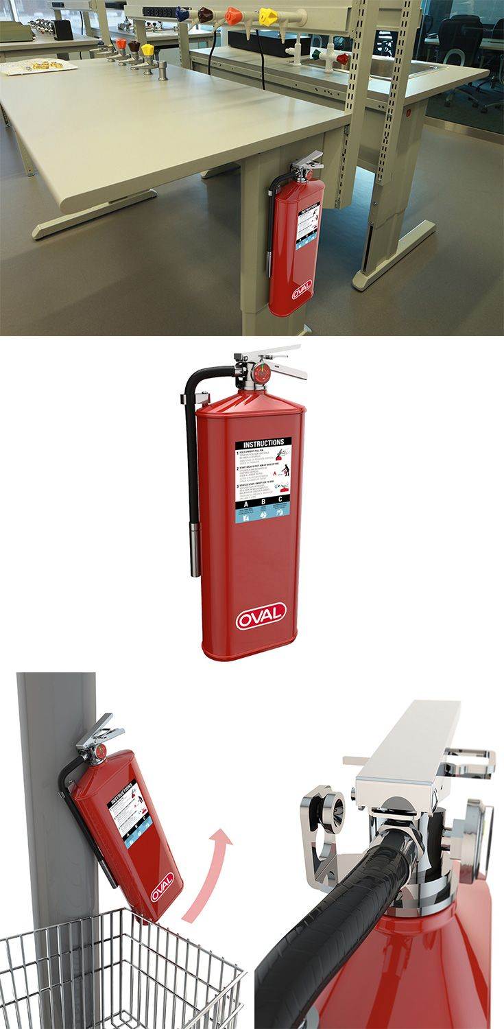 Today marks a new day, with the release of the world's slimmest fire extinguishers by Oval Brand! As beautiful as they are practical... READ MORE at Yanko Design !