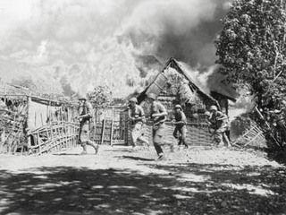 Gevechtsacties en inzet van mariniers tijdens de Eerste Politionele Actie.}
