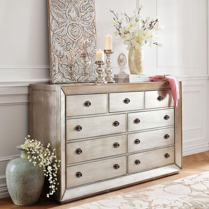 Celine Champagne Dresser in 2020 Bedroom furniture sets