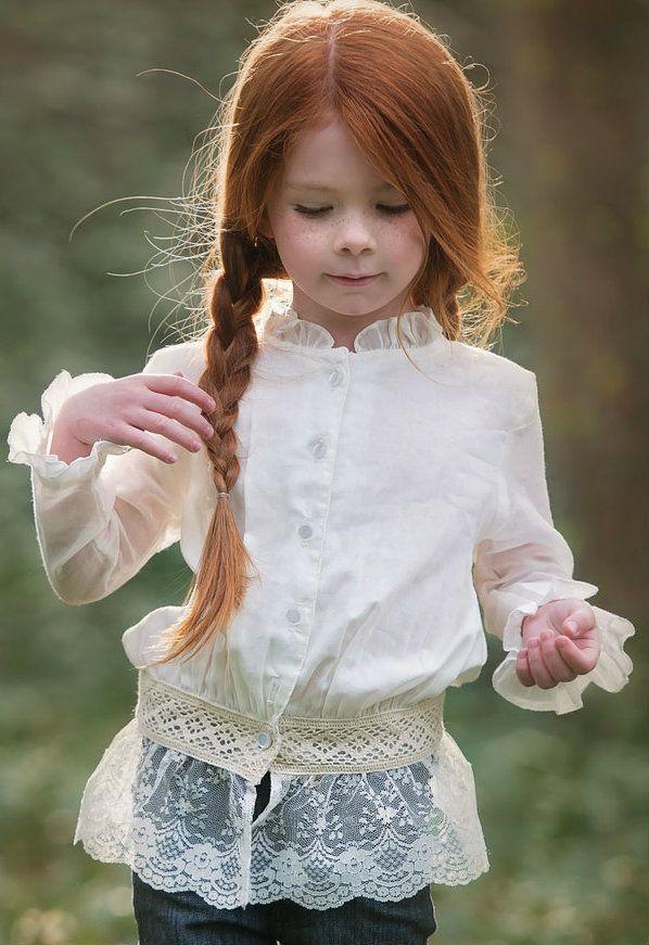 One Good Thread - Persnickety Clothing | Ivy Button Up - Cream - Autumn Splendor, $76.00 (http://www.onegoodthread.com/persnickety-clothing-ivy-button-up-cream-autumn-splendor/)