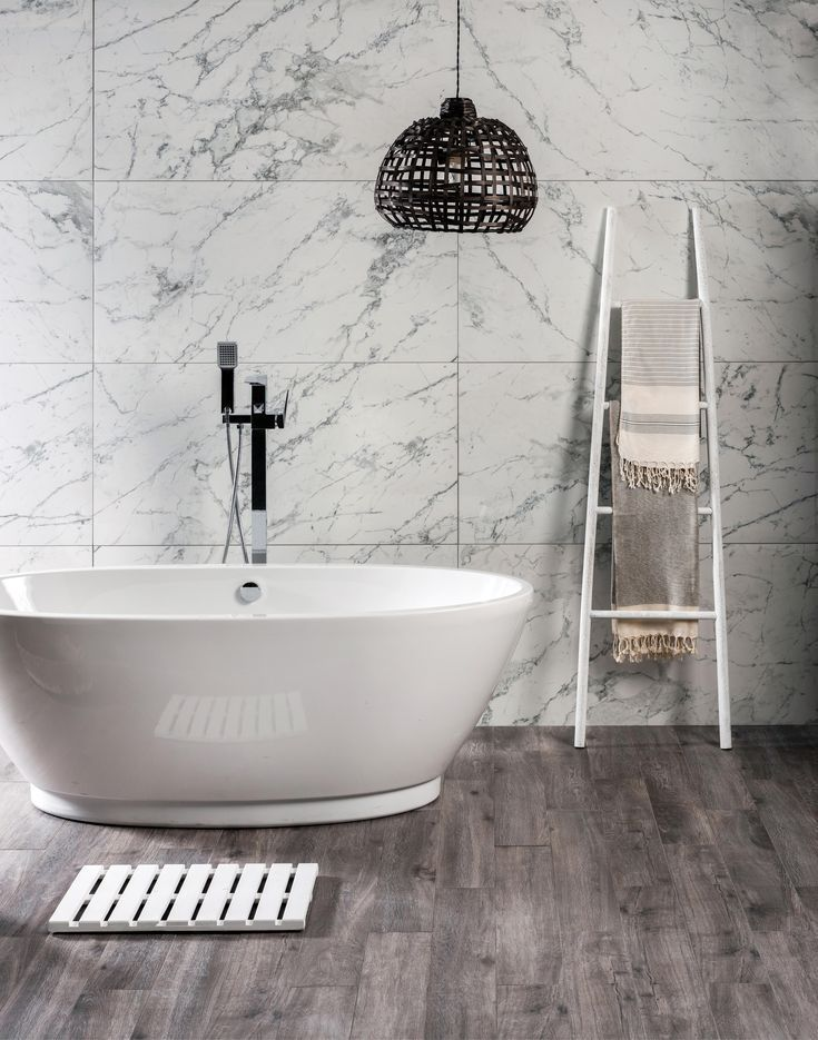 Bianco Floe Is From The Stone Series Original Styl Add Bianco Collection Contrast Deep Det Marble Tile Bathroom Wood Tile Bathroom White Marble Bathrooms