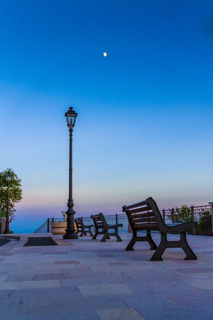 Benches for the spectacle of nature by Antonio Lallo on 500px