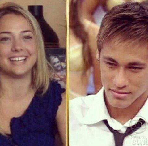 Neymar and Carolina