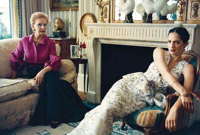 Vanity Fair Spain  Carolina Herrera by Jonathan Becker, 2010