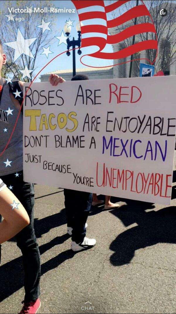 Do you blame immigrants for stealing your jobs? This little limerick is for you ♡
