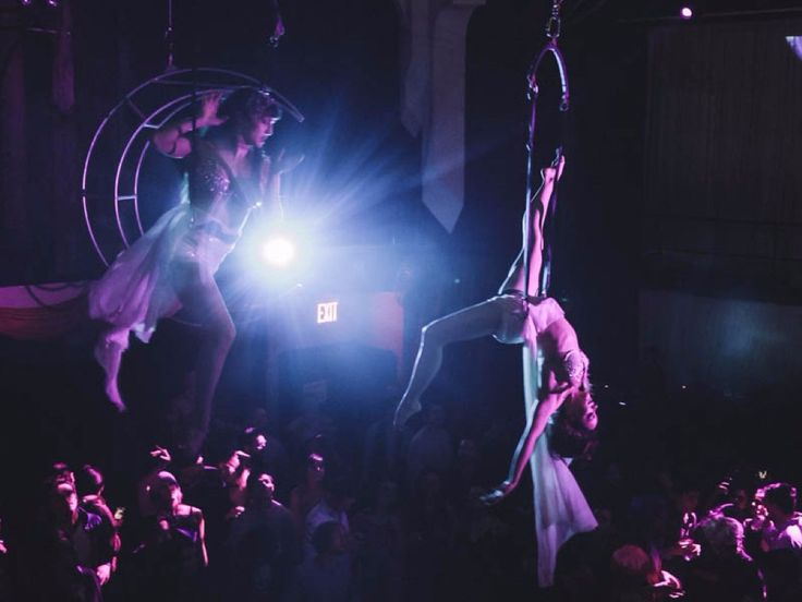 Whats its like to party at Brooklyns wildest club  with all-night dance parties gravity-defying performances and crazy costumes