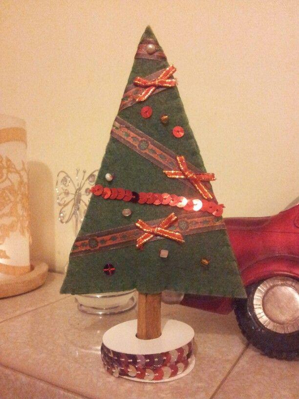 Felt Christmas Tree decoration.