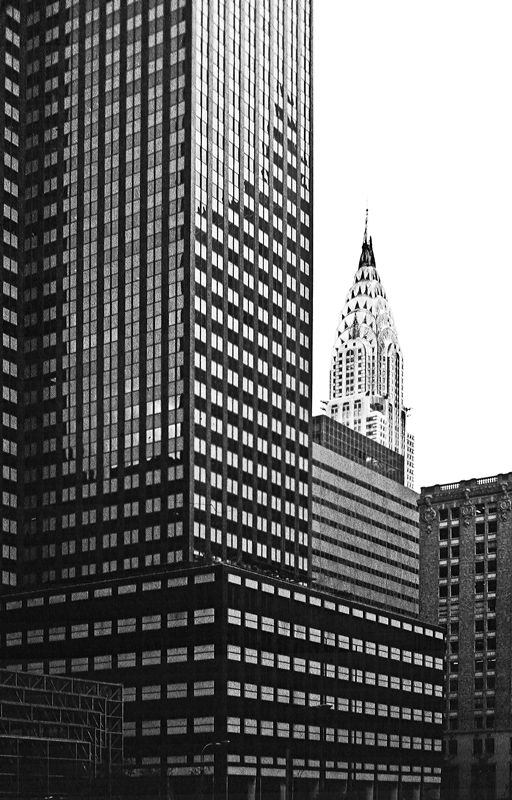 Black and white lines, NYC Copyright: Stephen Nunney