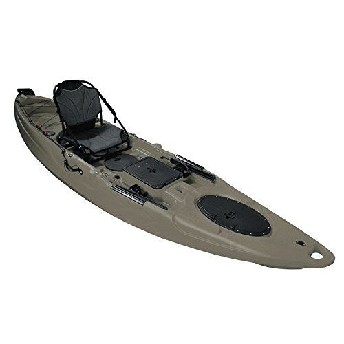 The Useful. UH-RA220 11.5 foot Riptide Angler Sit On Top Fishing Kayak with Paddles and Upright Chair and Rudder System provides a comfortable balanced seating for solo fishing and exploring. It provides stability and making it almost impossible to tip over. The 11.5 foot Riptide Angler might be...