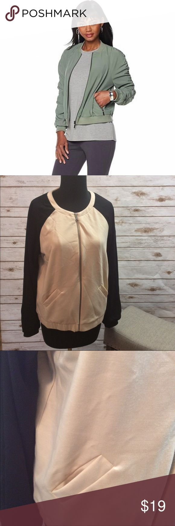 Selling this ✨Serena Williams✨ NWOT Bomber Jacket Size M on Poshmark! My username is: _maylove_. #shopmycloset #poshmark #fashion #shopping #style #forsale #Serena Williams #Jackets & Blazers
