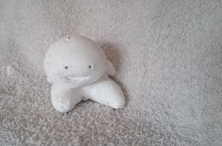 Have you seen this strange guy on my site? He's a small guy made from salt dough #saltdough #figures http://lindaursin.net/product/strange-guy/
