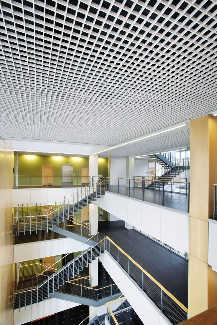 Commercial Ceilings Metal Metalworks Open Cell Cellio Armstrong Bangladesh Bmw Group
