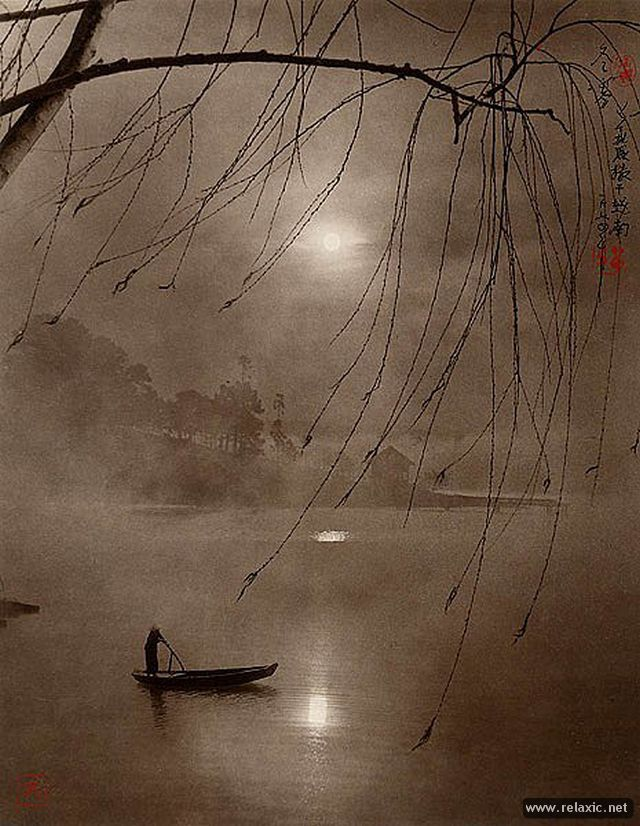 Китайский художник Дон Хонг-Оай (Dong Hong-Oai) .