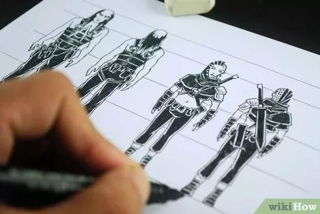 Image titled Create a Graphic Novel Step 2