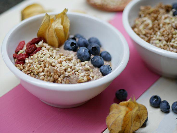 Maroni Porridge - das perfekte Rohkost Frühstück für die ganze Familie!