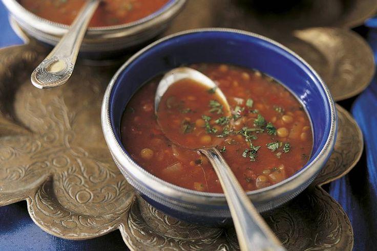 Turkse linzensoep - Recept - Allerhande