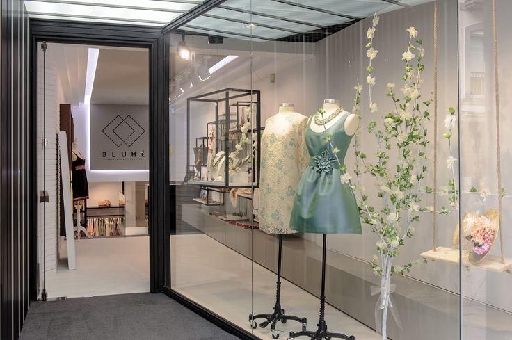 Blumé / equipoeme estudio #diseño #escaparate #tienda #ropa #accesorios