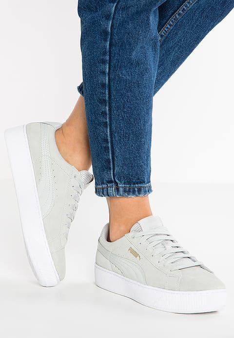 Puma VIKKY PLATFORM - Sneakers laag - grey violet - Zalando.be