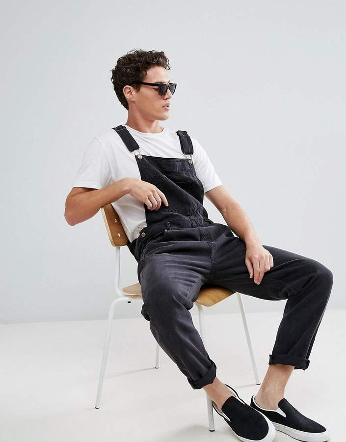 Dr Denim Loose Overalls