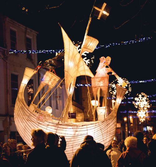 Truro Cornwall,  City of Lights