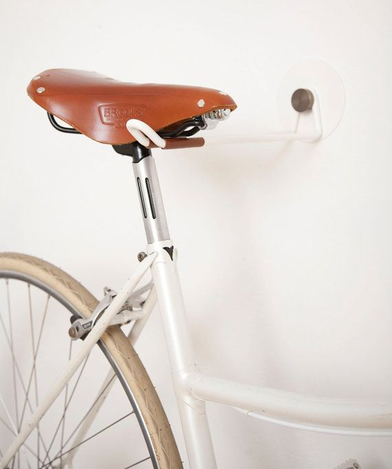 NEW: Vintage HOOK models now with SOLID BRASS knobs!  These HOOKS are made for passionate cyclists who want to store their bicycles indoor by hanging