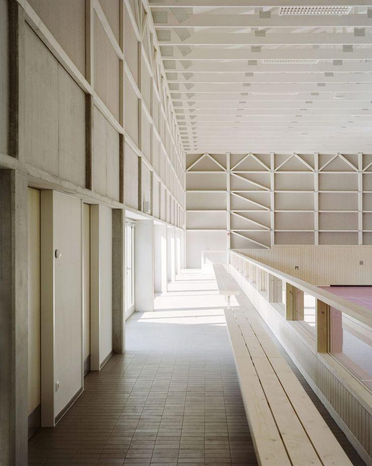 Sports hall by architect Florian Fischer