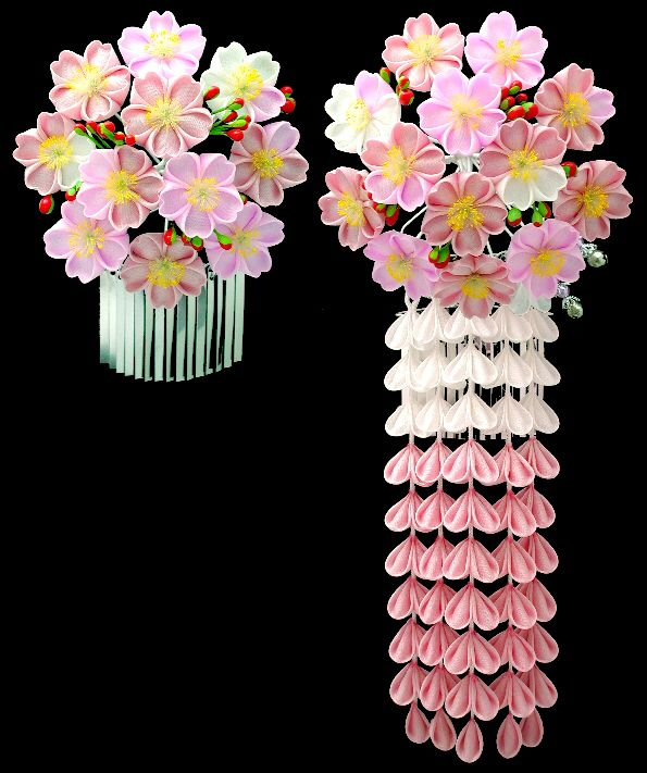 April kanzashi *sakura* cherry blossom