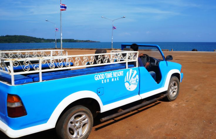 Free Pick-up service from Ao Nid Pier on Koh Mak (arrive with Boonsiri Ferry Catamaran)