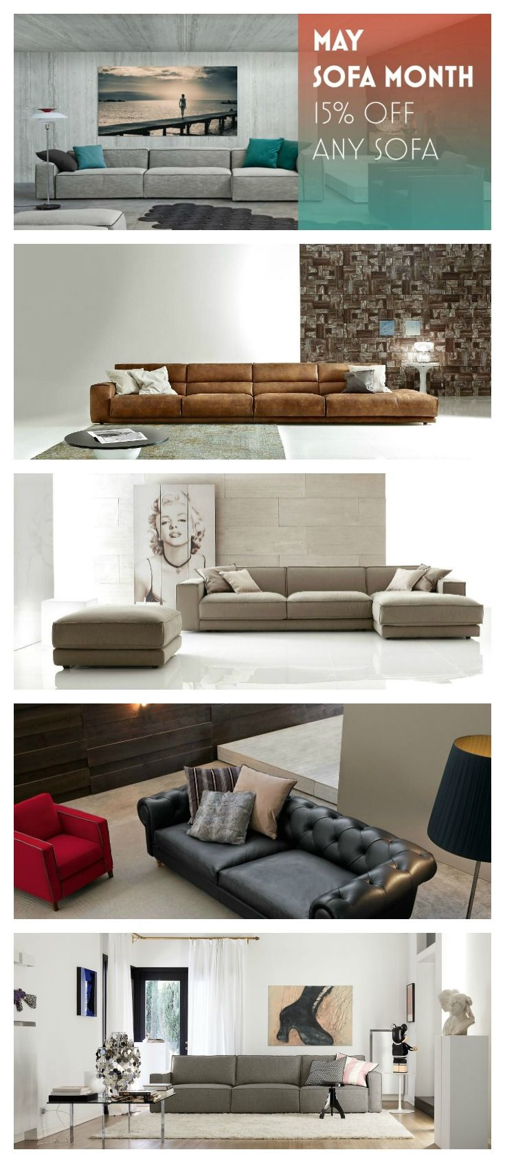 Beautiful Sofa Sale Happening Now At #Valitalia! 15% Off The Sofa Of Your Choice